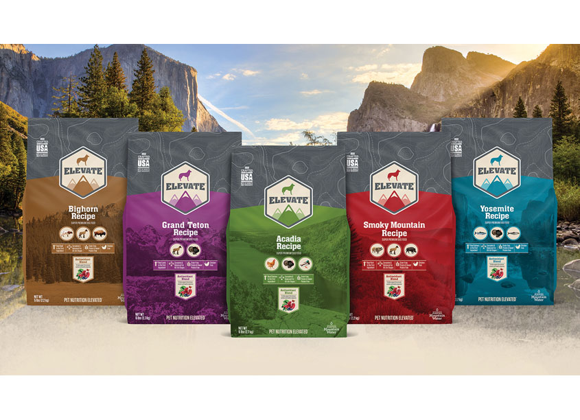 American Pet Nutrition Elevate Package Design
