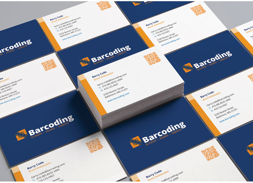 Barcoding, Inc. and Backroom (Brand Agency) Barcoding Brand Refresh