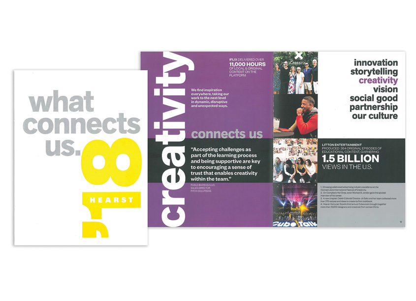 Hearst Annual Report 2018 - What Connects Us by Hearst Creative