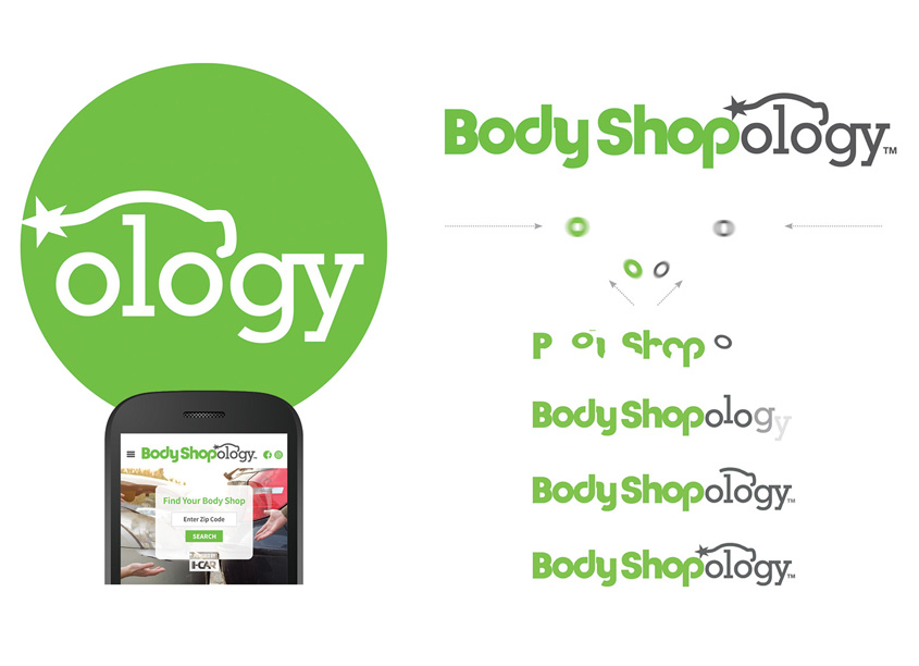 BodyShopology Logo Design by I-CAR