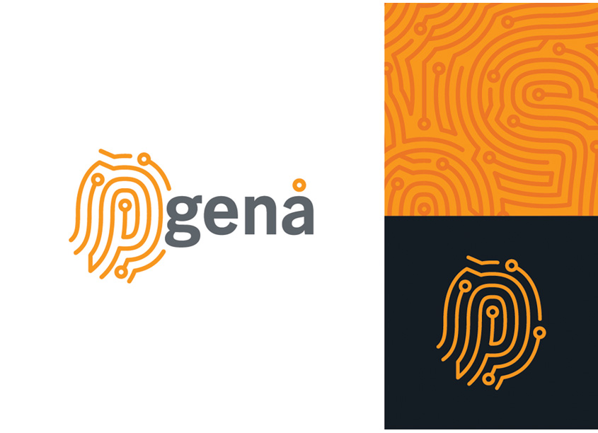 GENA Brand Identity by Crown Equipment Visual Design