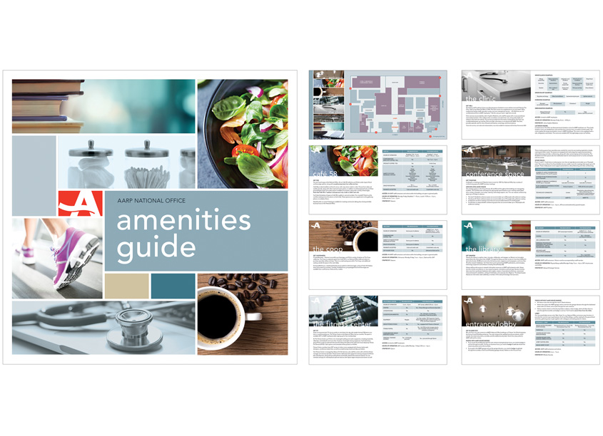 AARP Headquarters Amenities Booklet by AARP Brand Creative Services