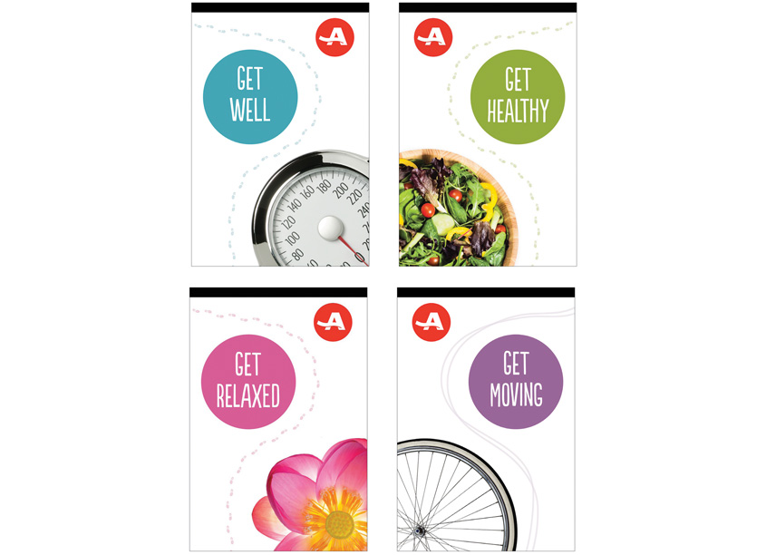 AARP Headquarters Health Clinic Posters by AARP Brand Creative Services