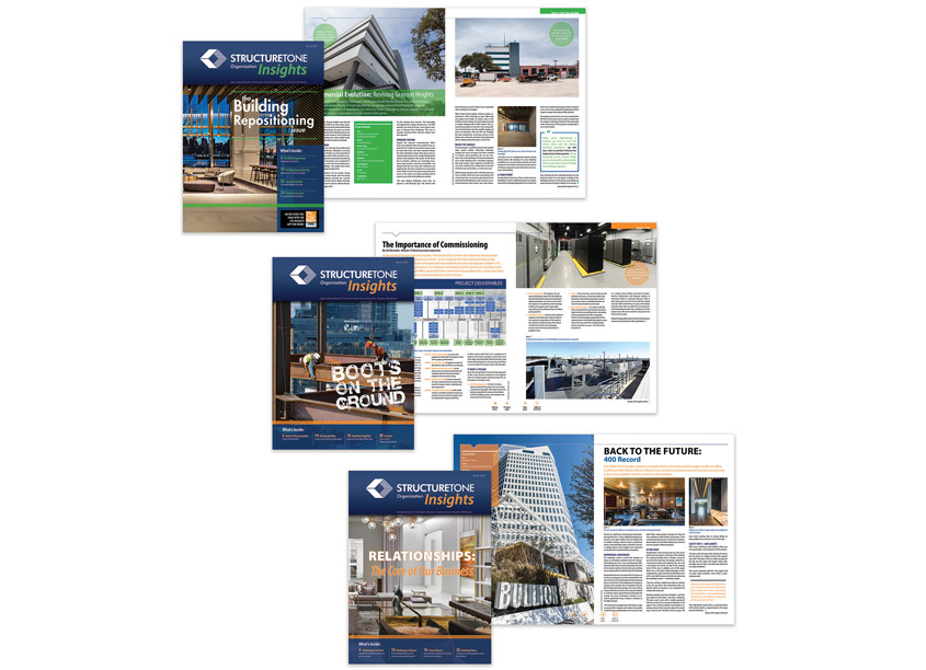 STO Insights Magazine by Structure Tone Organization (STO) Corporate Marketing