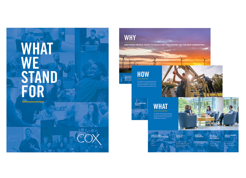 Cox Enterprises Creative Studio Cox Enterprise�s Purpose Campaign
