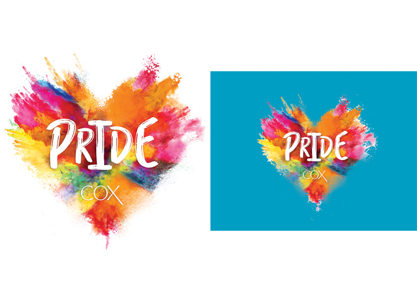 2018 Pride Parade Campaign by Cox Enterprises Creative Studio