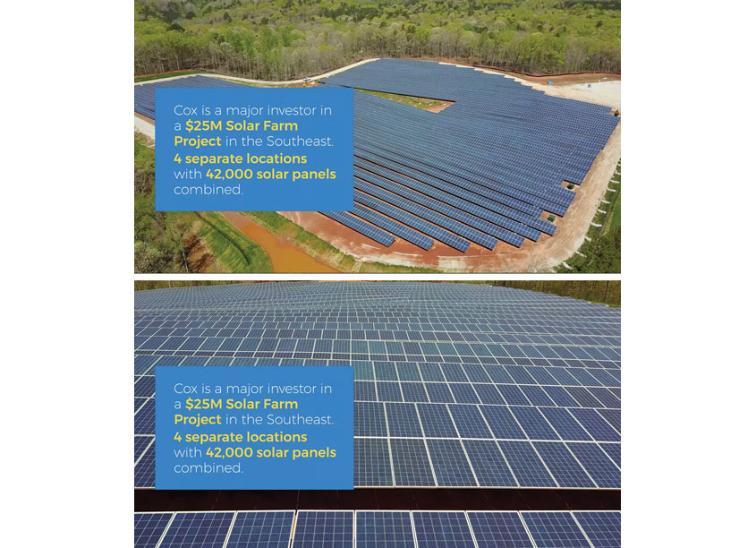 Cox Enterprises Creative Studio Solar Farm Video