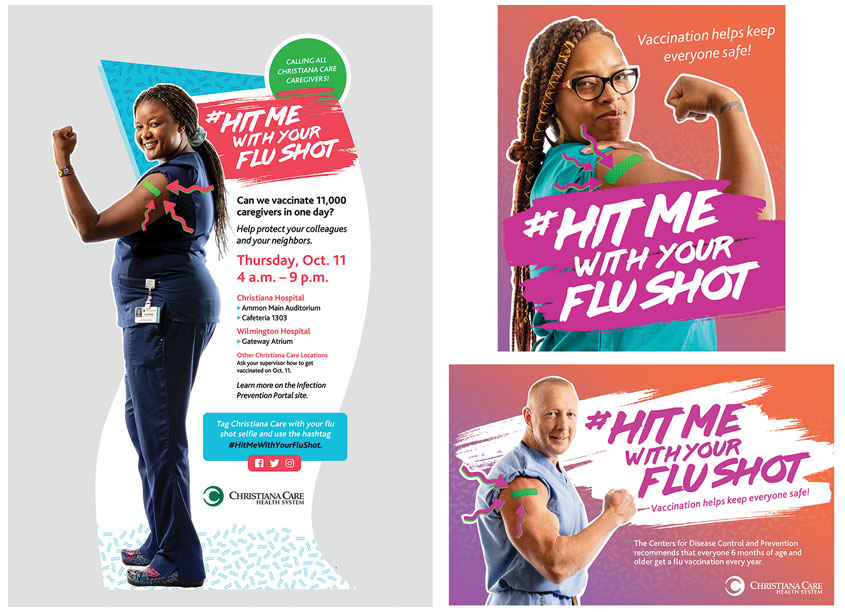 #HitMeWithYourFluShot by Christiana Care Health System