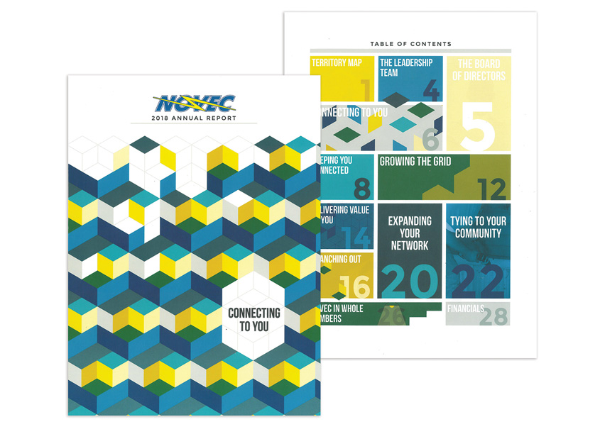 Northern Virginia Electric Cooperative 2018 NOVEC Annual Report: Connecting To You