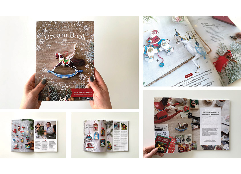 Dream Book by Hallmark Creative Marketing Studio