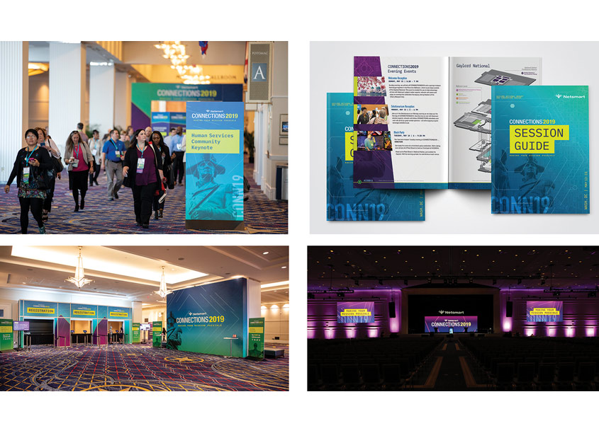 CONNECTIONS2019 Conference Branding by Netsmart