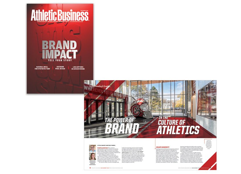 AB Media, Inc. Branding in Athletics Issue