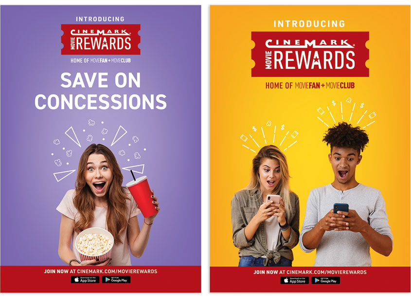 Movie Rewards - Concessions by Cinemark Creative Services