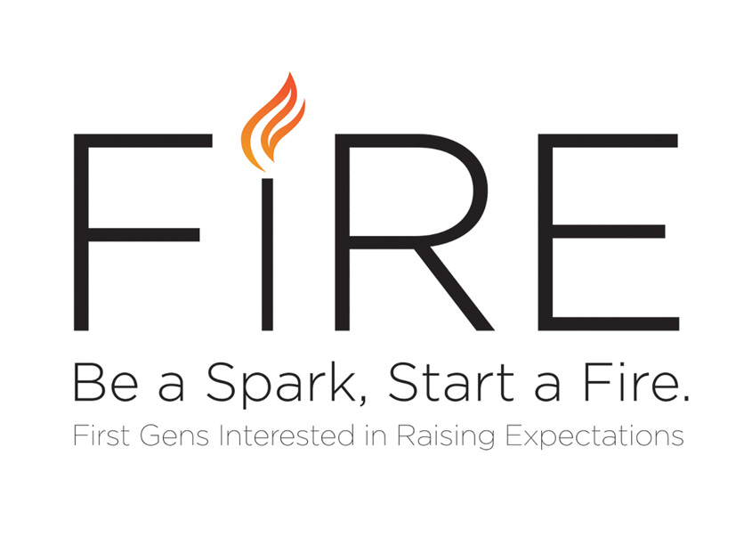 FIRE Wordmark by Texas Christian University (TCU) Student Affairs Marketing