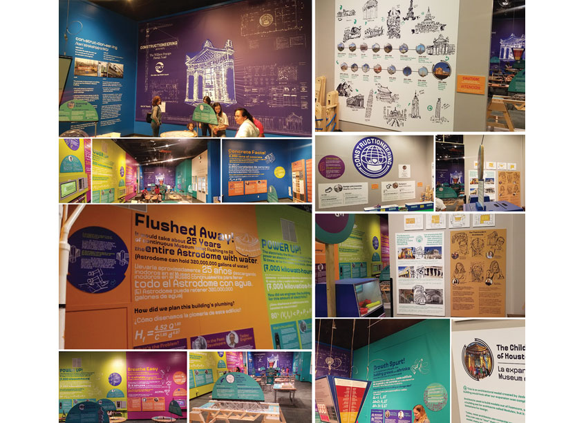 2019 Constructioneering Exhibition by Children's Museum of Houston