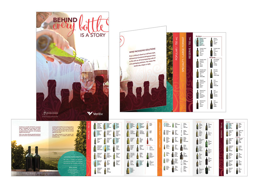 All American Containers Wine Brochure by Veritiv
