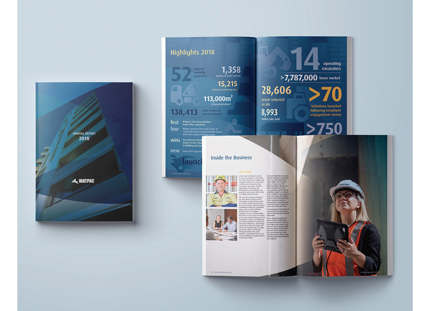 WATPAC Annual Report 2018 by Computershare Creative