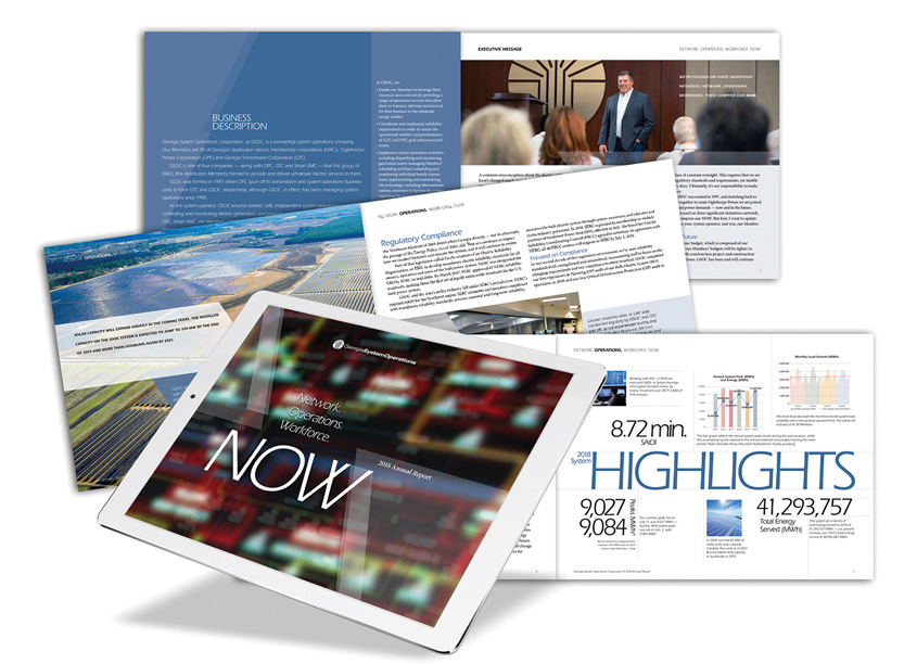 NOW 2018 Annual Report by Georgia System Operations Corporation (GSOC)