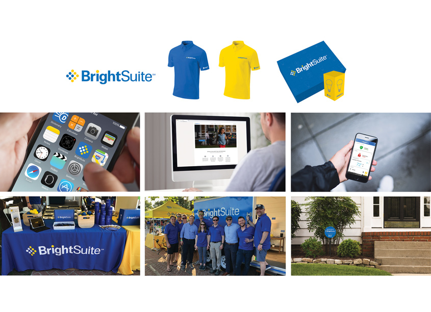 BrightSuite Logo and Branding by Dominion Energy