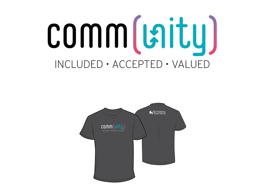 Community Inclusion and Diversity Logo by Kettering Health Network Marketing & Communications