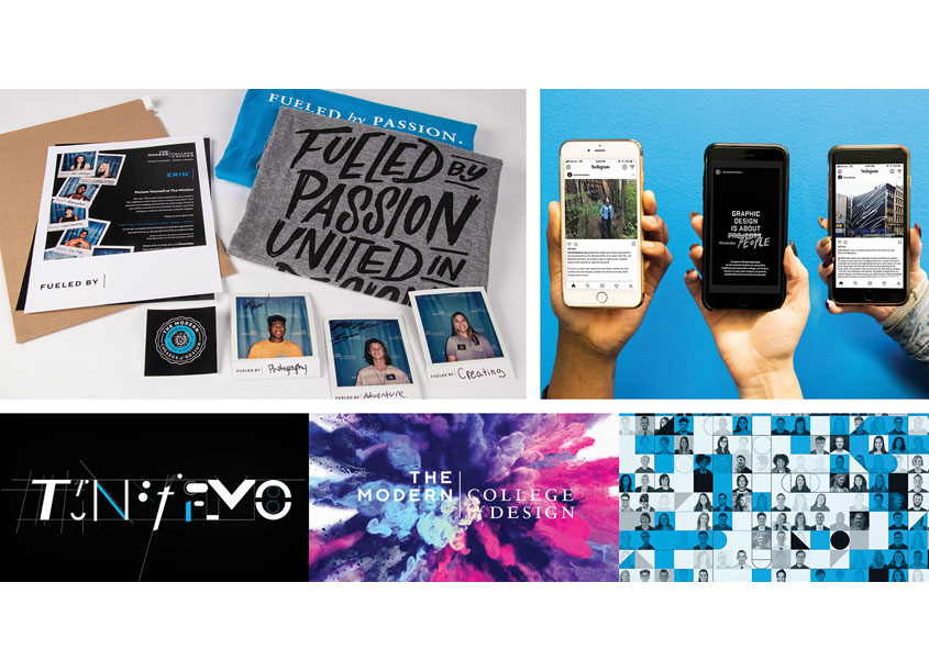 The Modern Brand Launch Campaign by The Modern College of Design