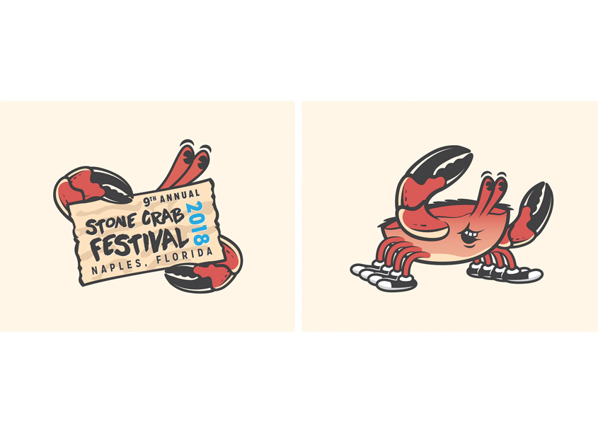 Stone Crab Festival Logo by Phelan Family Brands
