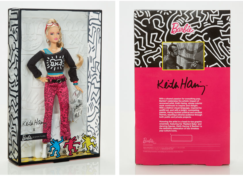 Mattel, Inc. Keith Haring™ Barbie® Doll
