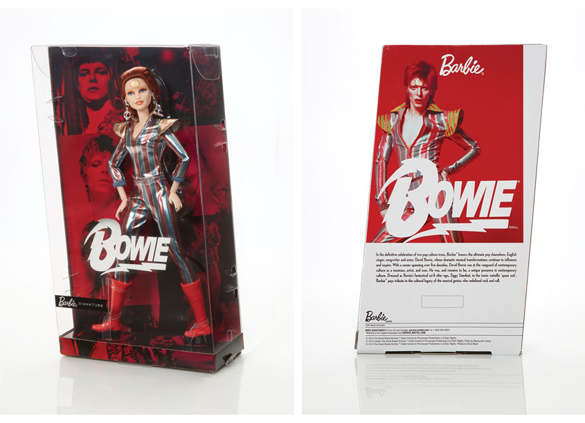 Mattel, Inc. David Bowie™ Barbie® Doll