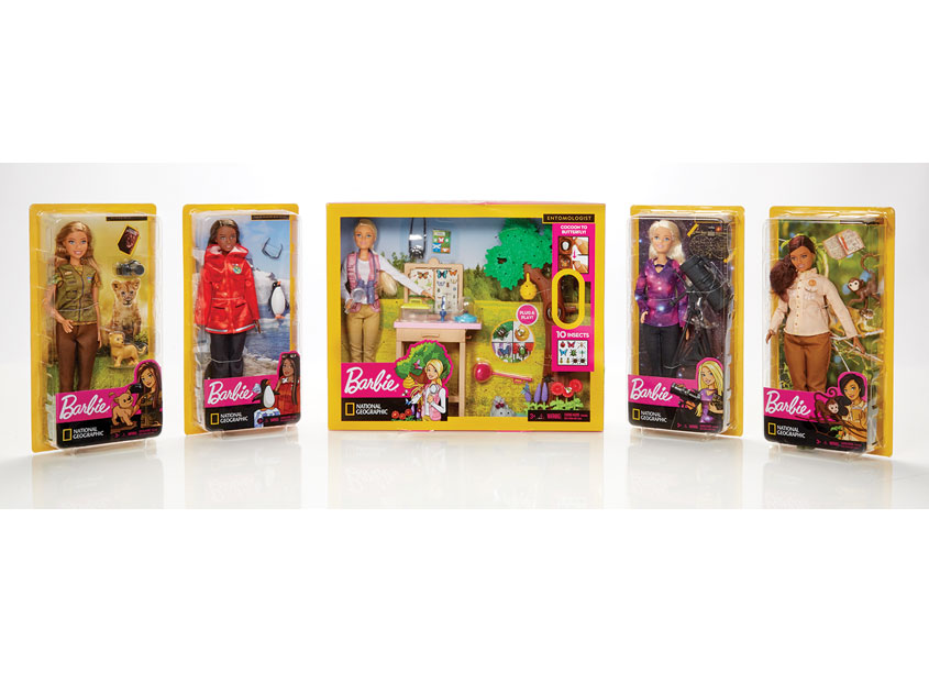 Mattel, Inc. National Geographic Barbie® Career Dolls