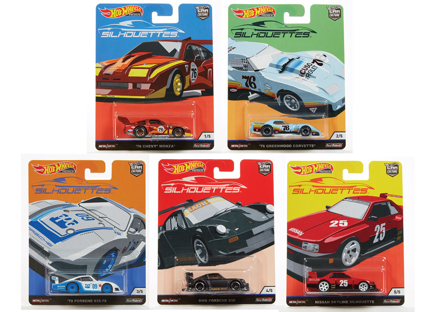 Mattel, Inc. Hot Wheels® Car Culture 2019 Sihouette Series