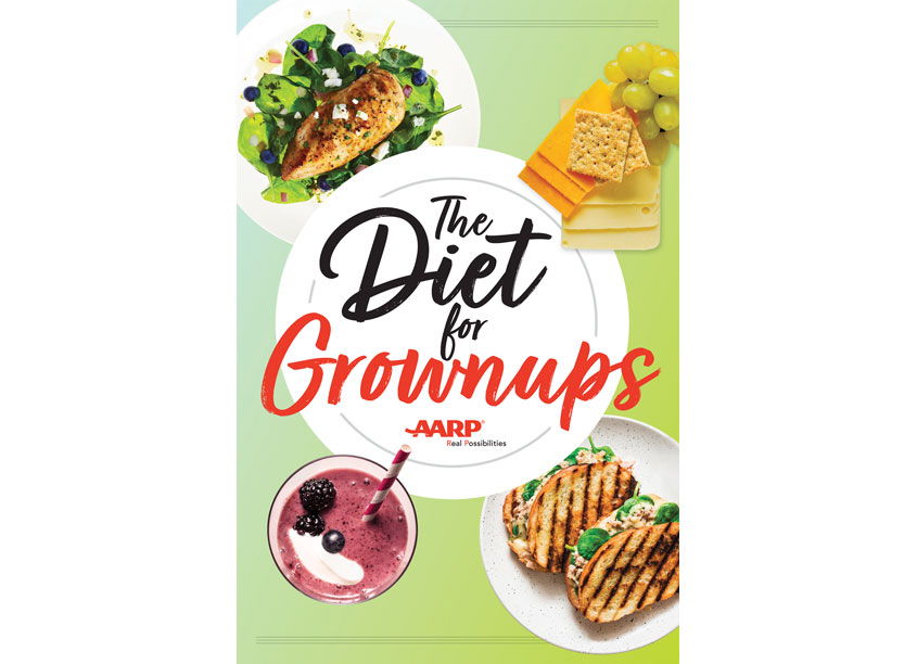 AARP Media Diet for Grownups Poster
