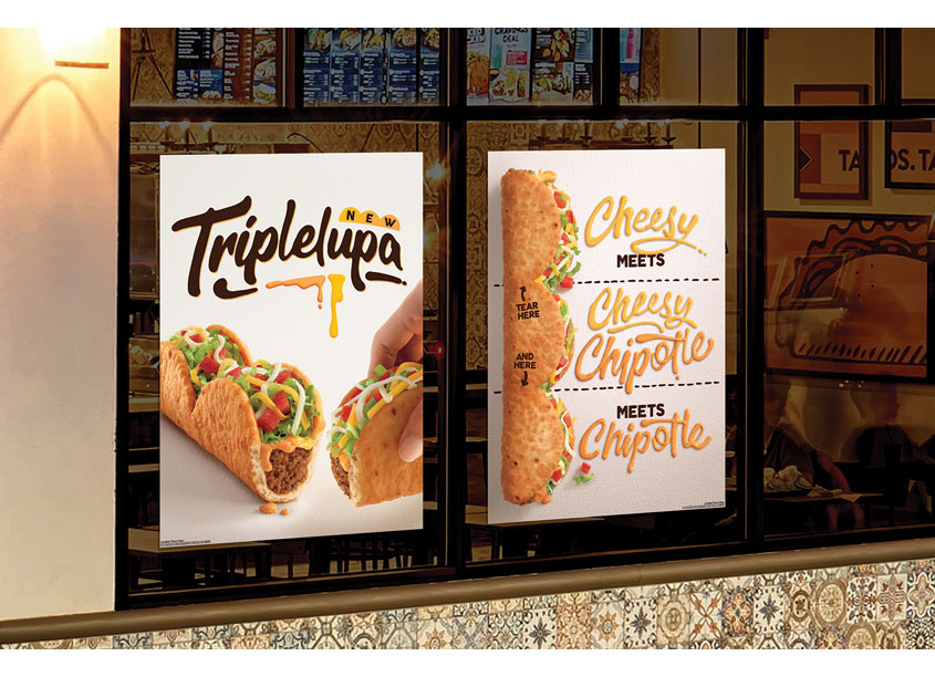 Taco Bell Design Taco Bell Triplelupa Display