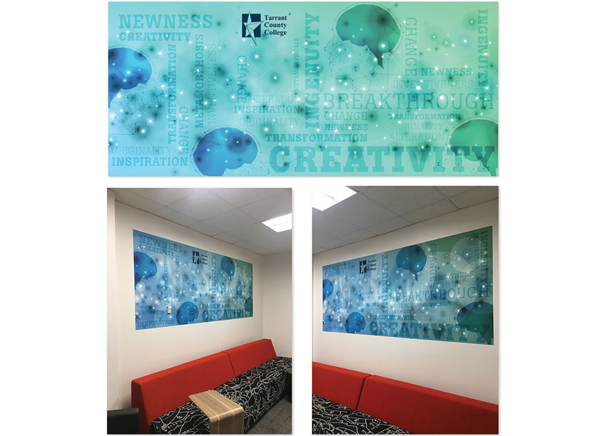 Blueroom - Innovation Wall Art by Tarrant County College District/Graphic Services