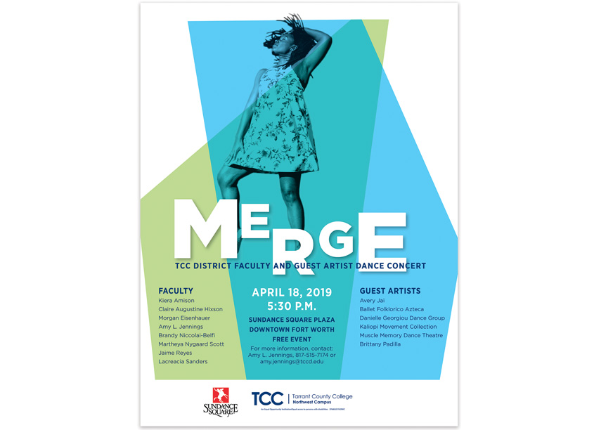 Merge Dance Concert by Tarrant County College District/Graphic Services