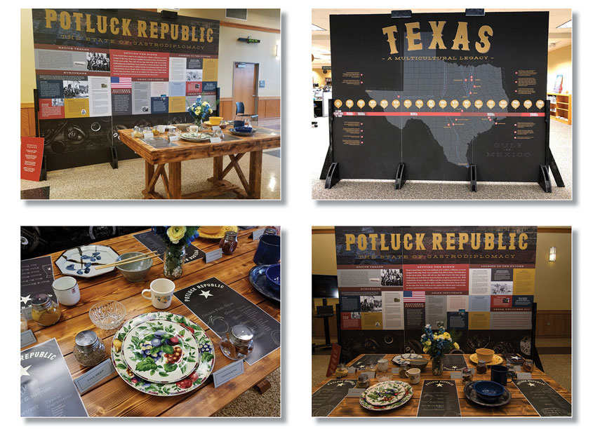 Potluck Republic: The State of Gastrodiplomacy by Tarrant County College District/Graphic Services