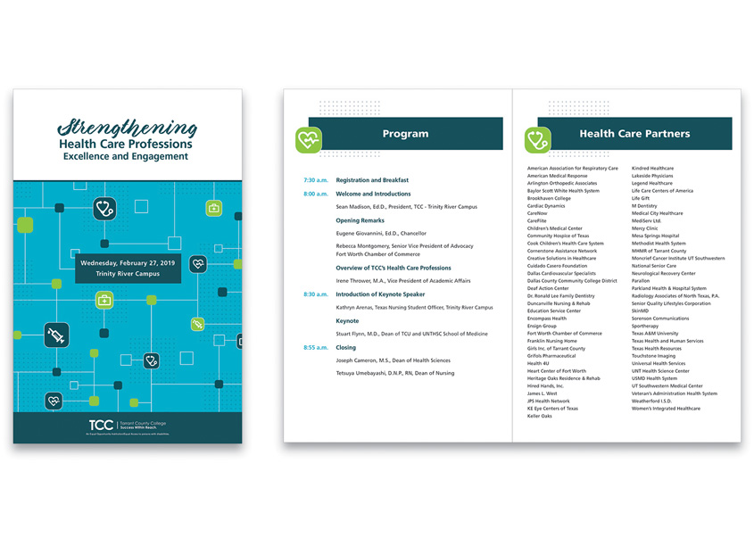 2019 Health Professions Meeting Program by Tarrant County College District/Graphic Services