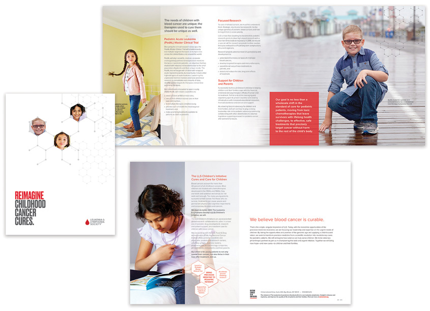 The Leukemia & Lymphoma Society/LLS Creative Services LLS Children�s Initiative Brochures
