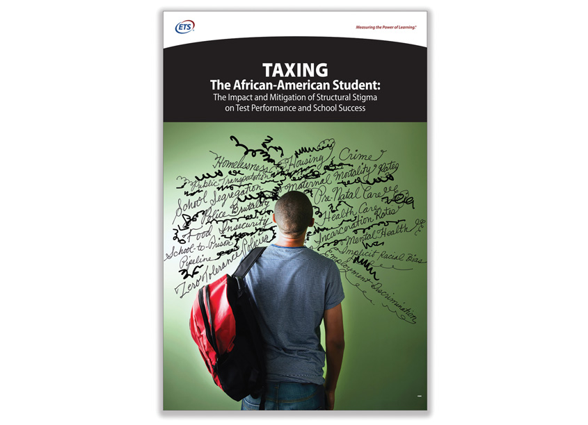 Taxing The African American Student Report Cover by ETS