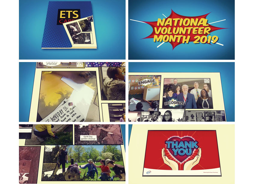 National Volunteer Month 2019 Thank You Video by ETS