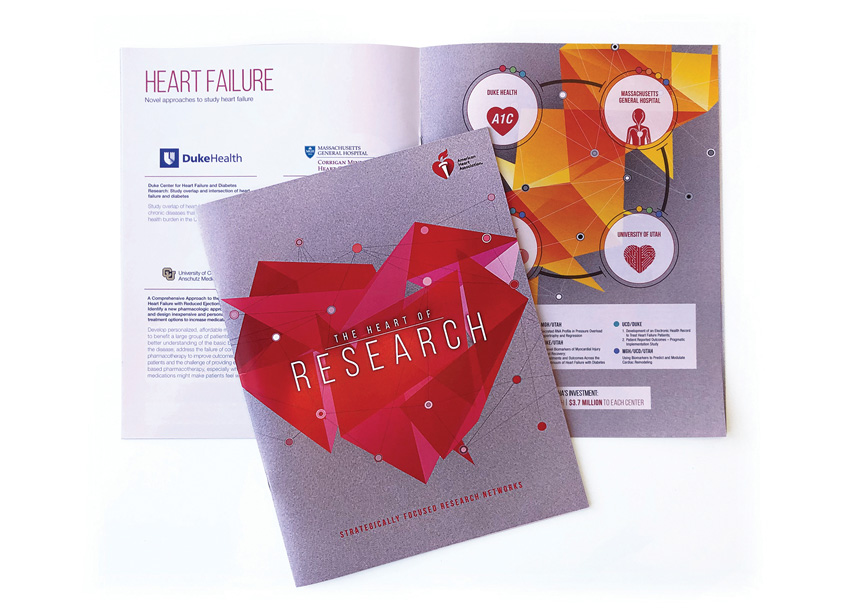The Heart of Research Brochure by American Heart Association