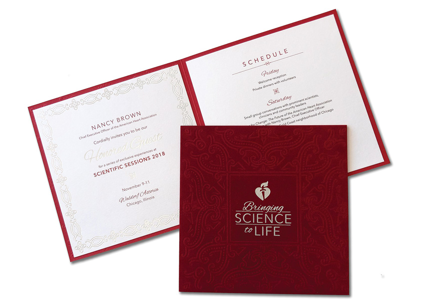 Bringing Science to Life Invitation by American Heart Association