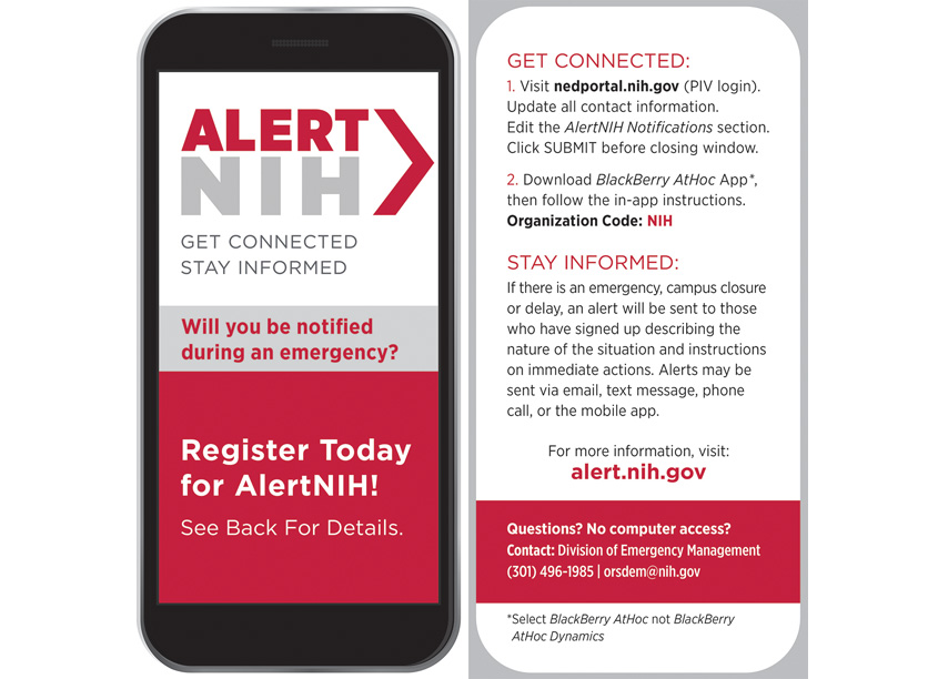 AlertNIH Info Card by National Institutes of Health (NIH) Medical Arts