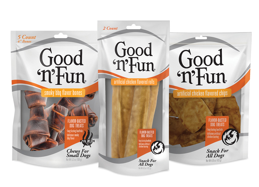 Spectrum Brands - Global Pet Care and Home & Garden Good �n� Fun Flavor-Blasted Dog Treats