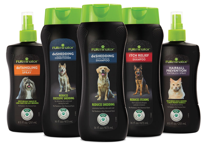 Spectrum Brands - Global Pet Care and Home & Garden FURminator Pet Shampoos, Conditioners and Grooming Sprays