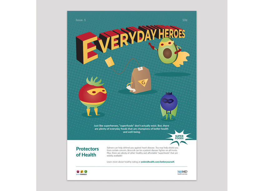 Protectors of Health Poster by WebMD Health Services