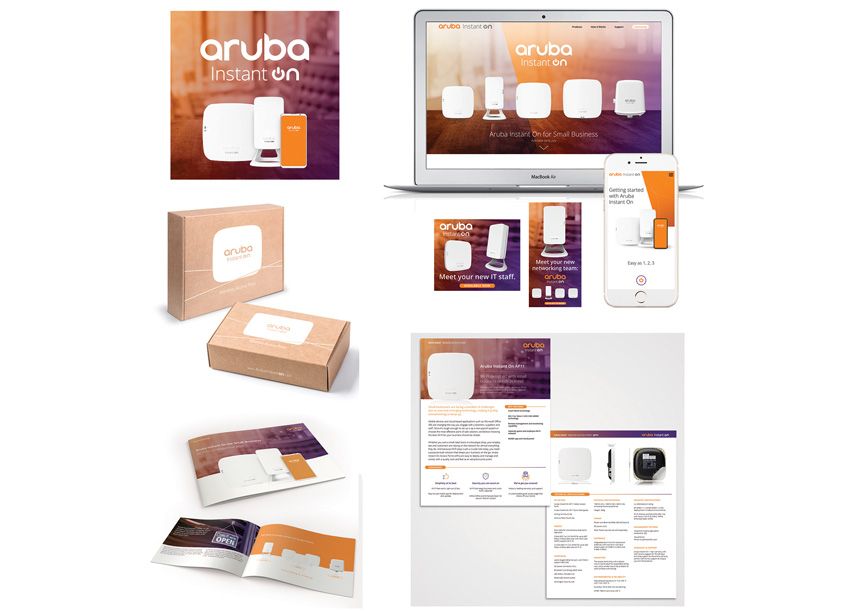 Aruba Instant On Branding Program by Aruba, a Hewlett Packard Enterprise Company