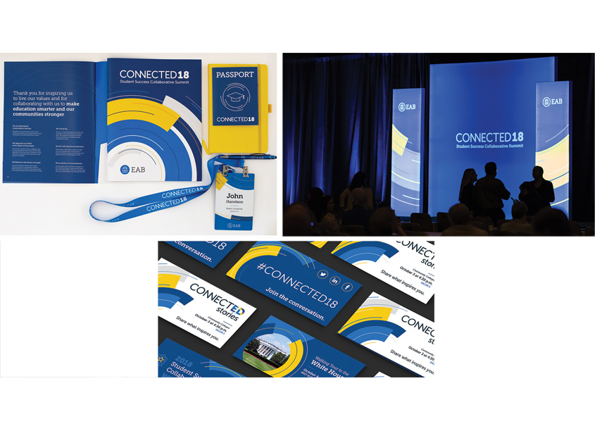 EAB Connected18 Summit Branding by EAB - Design Strategies and Solutions