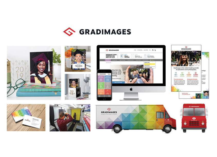 GradImages Rebrand by Iconic Group