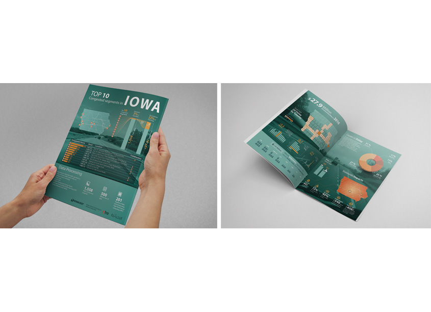 Iowa DOT, Interstate Congestion Report by INTRANS (Institute for Transportation) at Iowa State University