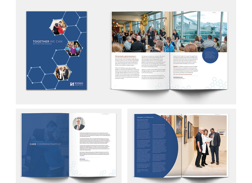 2019 Annual Report - Together We Can by Huntsman Cancer Institute Communications